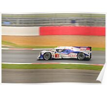 Toyota Racing No 8 Poster