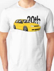 Imola Yellow 20th Graphic Unisex T-Shirt