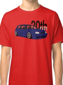 Blue 20th GTI Graphic Classic T-Shirt