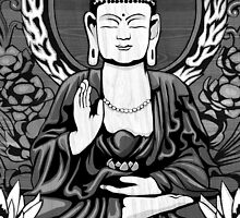 Gautama Budda Crop by GrizzlyGaz