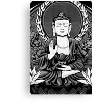 Gautama Budda Crop Canvas Print