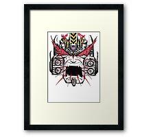Megatron Hates The Primes Framed Print