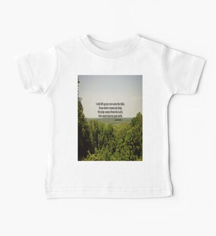 Eyes to Hills Psalm 121 Baby Tee