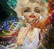 So Marilyn: the Kiss by Alma Lee