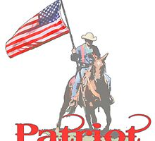 Mounted Patriot  by saltypro