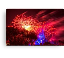 Red Wishes Canvas Print