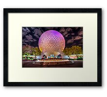 Goodnight, Epcot Framed Print