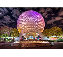 Goodnight, Epcot Photographic Print