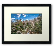 The Inventors House Framed Print