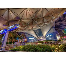 Like a Grand and Miraculous Spaceship Photographic Print