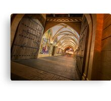 Through the Castle Canvas Print