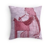 The Student Throw Pillow