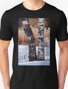 Two Birch Trees T-Shirt