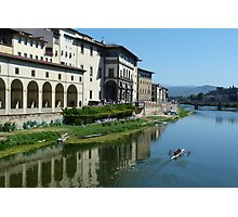 Reflecting on Florence Photographic Print