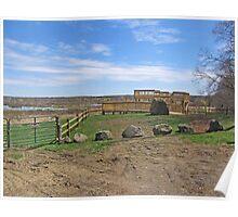 Wetlands Observation Deck Poster
