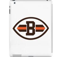 cleveland brown iPad Case/Skin