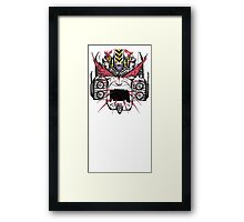 Megatron REALLY Hates The Primes Framed Print