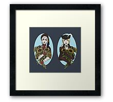 The Dream and The Nightmare Framed Print