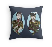 The Dream and The Nightmare Throw Pillow
