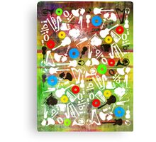 all abut music  Canvas Print