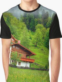 Spring meets winter in the Alps Graphic T-Shirt