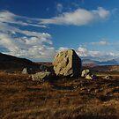 Isle of Rum - boulder by lukasdf