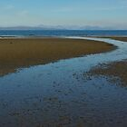 Isle of Rum - where the river meets the sea by lukasdf