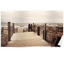 Lake Superior Beach in Duluth Minnesota 1 Poster