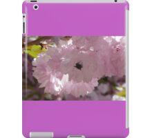 little fly on flower iPad Case/Skin