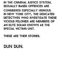 Law & Order: Special Victims Unit Photographic Print
