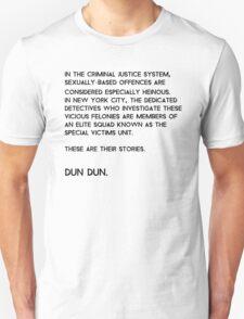 Law & Order: Special Victims Unit Unisex T-Shirt