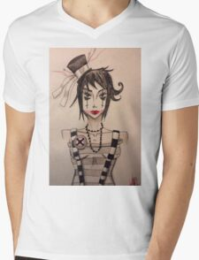 Dollface (2) Mens V-Neck T-Shirt