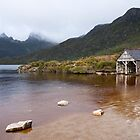 ~ Dove Lake Boat Shed ~ by Leeo