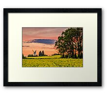 Mill view Framed Print