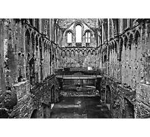 Glastonbury Abbey Photographic Print