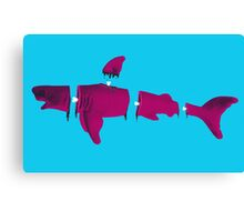 Shark Bait Canvas Print