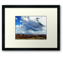Rain Cloud Framed Print