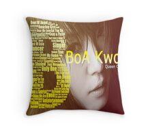 BoA Kwon Throw Pillow