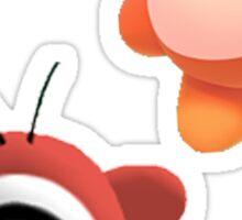 Waddle Doo and Bandana Dee Sticker