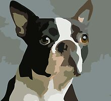 The One That Got Away - Boston Terrier by DougPop