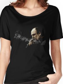 Tony Soprano Smoking A Sigar Women's Relaxed Fit T-Shirt