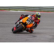 Colin Edwards at Circuit Of The Americas 2014 Photographic Print