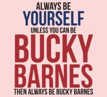 Always Be Bucky Barnes  Kids Clothes