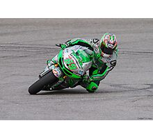 Nicky Hayden at Circuit Of The Americas 2014 Photographic Print
