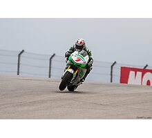Hiroshi Aoyama at Circuit Of The Americas 2014 Photographic Print