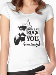 bombay rock  Women's Fitted Scoop T-Shirt