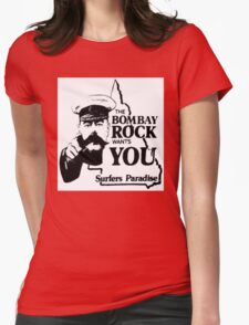 bombay rock  Womens Fitted T-Shirt