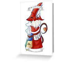 Freya Crescent Greeting Card