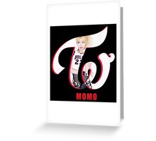 Momo Greeting Card