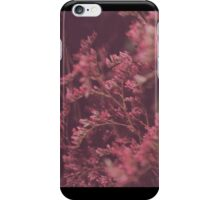 Flowers in the wind iPhone Case/Skin